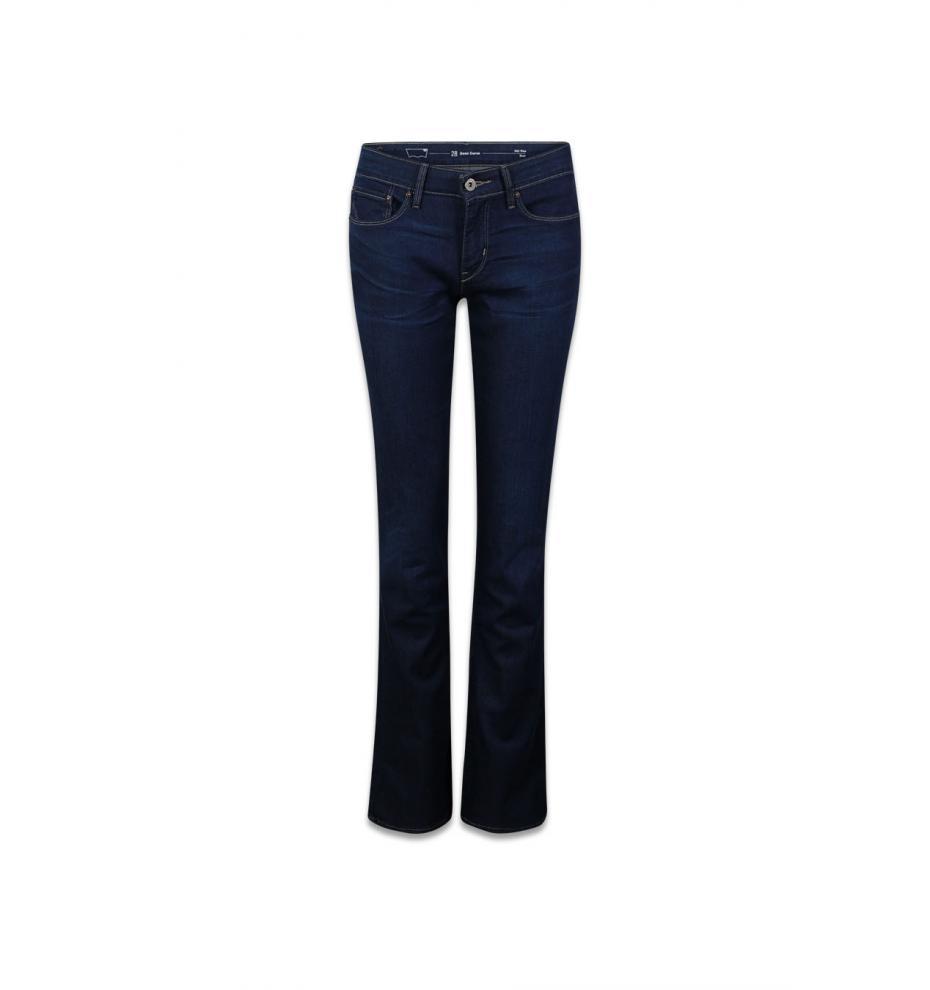 LevisпїЅ jeans 57770 demi curve bootcut richest indigo