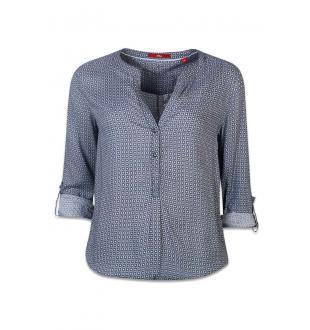 Blauwe blouse 04899113782