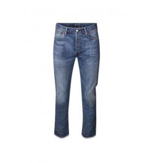 straight jeans 501 ZWART