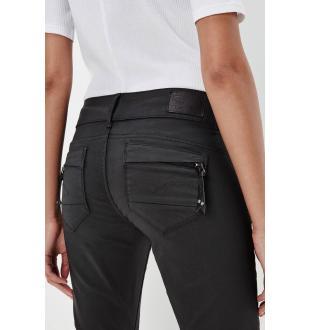 skinny jeans 60883D011 ZWART