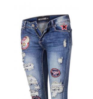 Jeans AMPSA0166 BLAUW