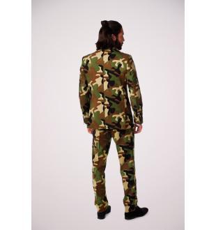 Groen kostuum COMMANDO