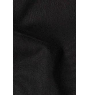 Zwarte jas D02428W018