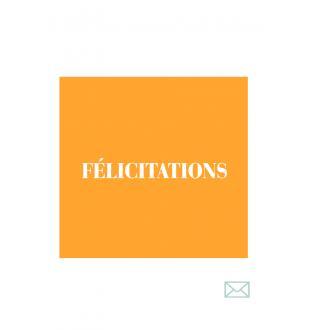 Cadeaubon FÉLICITATIONS (FR)