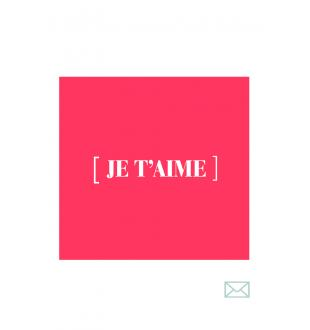 Cadeaubon JE T'AIME (FR)