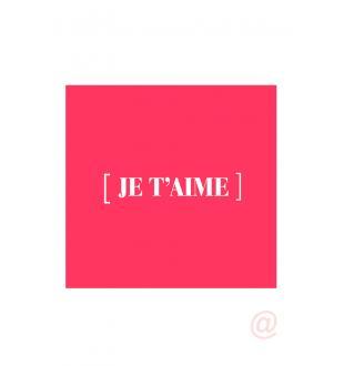 JE T'AIME (FR)