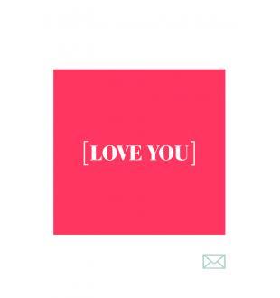 Cadeaubon LOVE YOU