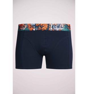 Blauwe boxers JACURBANWAISTBAND