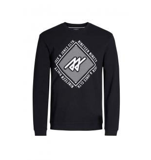 Zwarte sweater JCOPIQUE SWEAT CREW