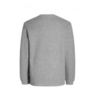 JCOPIQUE SWEAT CREW_LIGHT GREY MEL