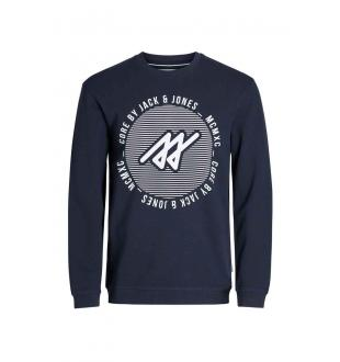 JCOPIQUE SWEAT CREW_SKY CAPTAIN