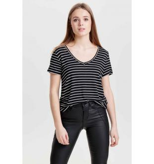 JDYSPIRIT SS STRIPE_BLACK