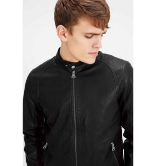 Zwarte jas JJVERIC JACKET