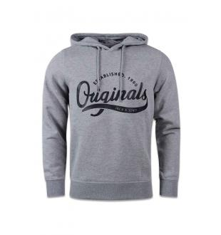JORPADDY SWEAT HOOD_LIGHT GREY MEL