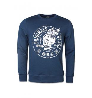 Zwarte sweater JORTRACKS SWEAT CREW