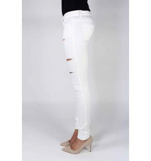 Jeans ONLCORAL SL SK JEANS WIT