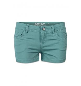 Blauw shortje ONLNYNNE COLORED SHO