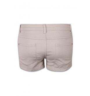 Beige shortje ONLNYNNE COLORED SHO