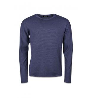 ONSAGNI CREW NECK_DRESS BLUES