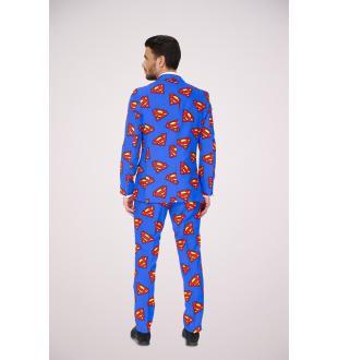 Blauw kostuum SUPERMAN