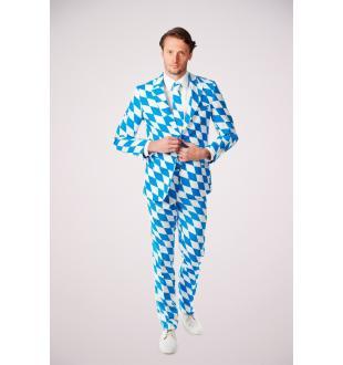 Blauw kostuum THE BAVARIAN