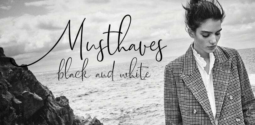 Inspiratie: Musthaves in black and white