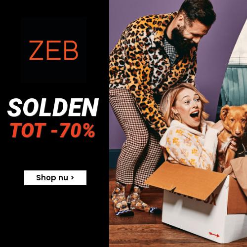 Uitverkoop ZEB kortingen tot 70%