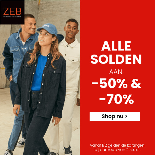 New season deals korting tot 50% ZEB